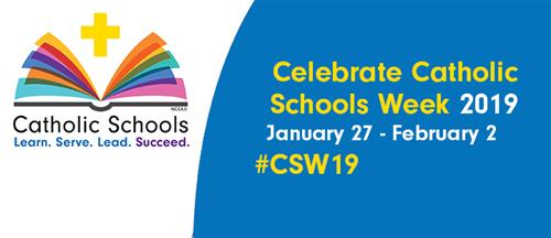 Catholic Schools Week Open House on Sunday, January 27th!