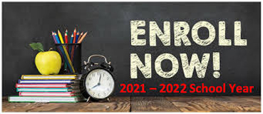 OPEN ENROLLMENT FOR THE SCHOOL  YEAR 2021-2022