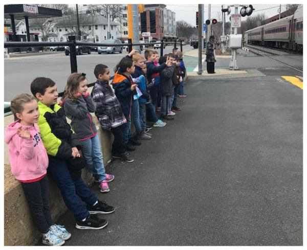 Kindergarten Learns About Trains