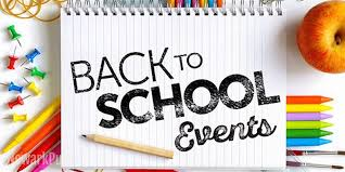 Back to School Schedule & Events