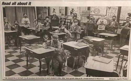 Grade 3 in the News!