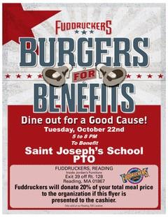 Dine Out at Fuddrucker's on Wednesday, October 24th