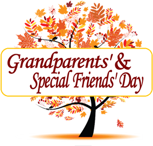 Grandparents and Special Friends' Day on Friday, November 2!