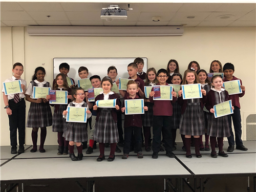 Poetry Contest Winners