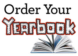 Order Yearbooks by Thursday, May 23rd