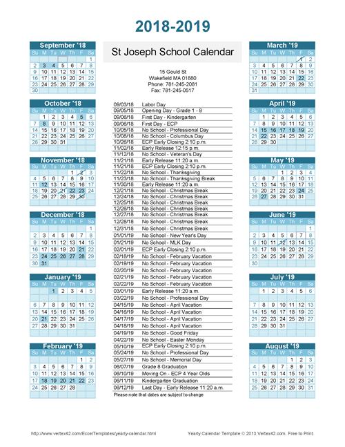 home    saint joseph school calendar